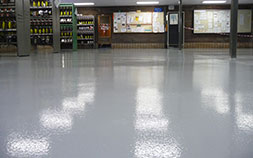 Hard wearing and moisture resistant epoxy coatings that are anti-microbial, seamless, ease to clean and maintain